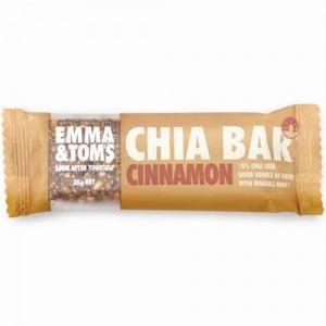 Emma & Toms Chia Bar Vanilla & Cinnamon