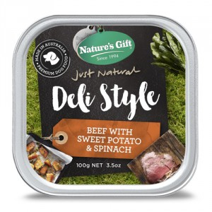 Natures Gift Deli Style Beef, Sweet Potato & Spinach