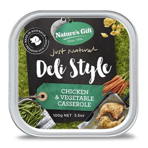 Natures Gift Deli Style Chicken Veg Casserole w: pasta