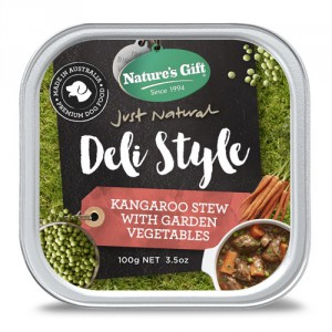 Natures Gift Deli Style Kangaroo Stew with Vegetables