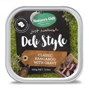 Natures Gift Deli Style Kangaroo with Gravy
