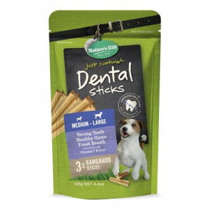 Natures Gift Dental Sticks Medium to Large Dogs