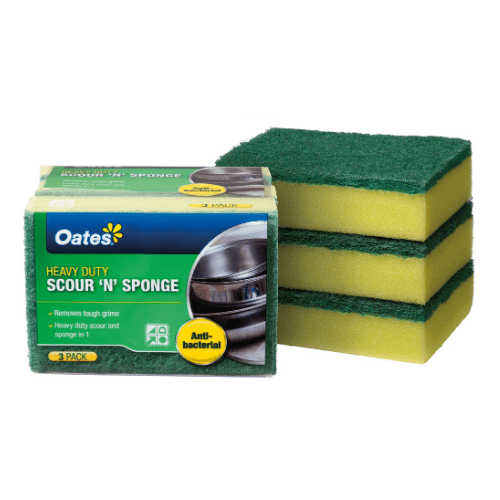 Oates Anti-Bacterial Sponge Scourer product image for the MoM Rate It Listings