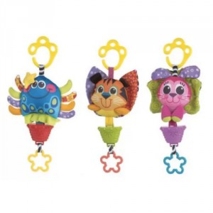 Playgro Musical Pullstring Toy Assorted