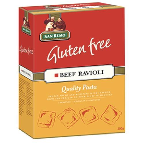 San Remo Gluten Free Beef Ravioli