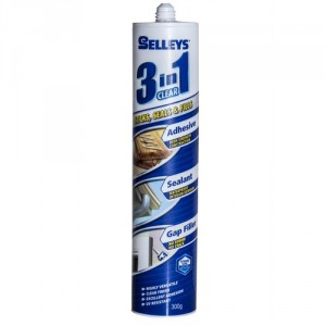 Selleys Adhesive 3 in 1 Clear