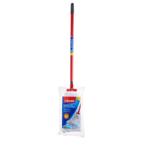 Image of Vileda SuperSize Cotton Mop - TX Handle
