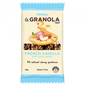 Wallaby Le Granola Vanilla & Sour Cherry