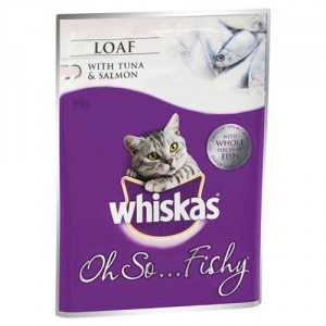 Whiskas Adult Cat Food Oh So Tuna & Salmon