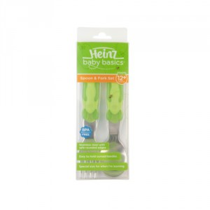 heinz baby basics spoon and fork set