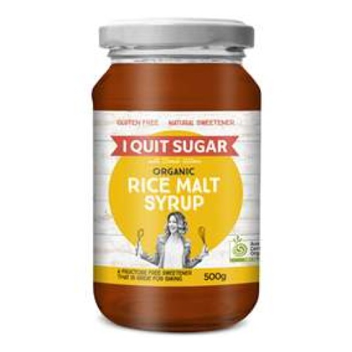 i quit sugar rice malt syrup rate it