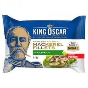 king oscar mackerel fillets in olive oil rate it