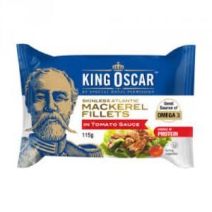 king oscar mackerel fillets in tomato sauce rate it