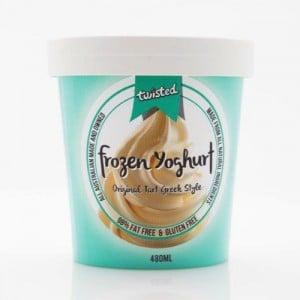 twisted frozen yoghurt original tart