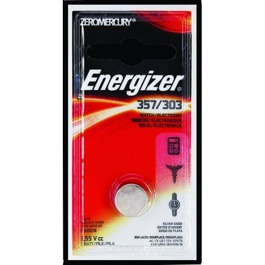 Energizer Button Battery Bp1 357
