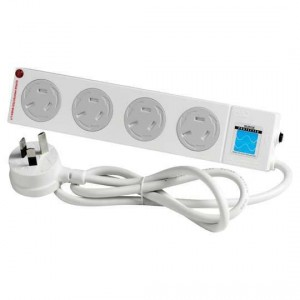 Hpm Child Safe 4 Outlet Power Board With Surge