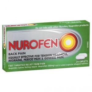 Nurofen Caplets Back Pain