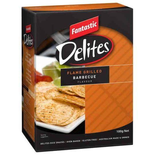 Fantastic Delites Snacks Flame Grilled Bbq