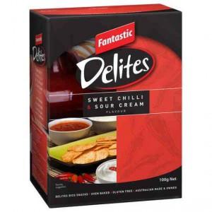 Fantastic Delites Snacks Sweet Chilli & Sour Cream