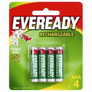 Eveready Aaa Rechargable Batteries