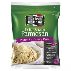 Perfect Italiano Extra Sharp Grated Parmesan