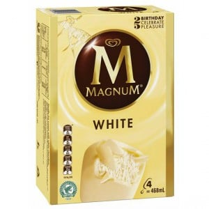 Streets Magnum Ice Cream White Chocolate