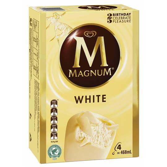 Streets Magnum Ice Cream White Chocolate