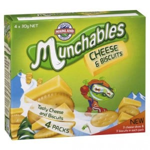 Munchables Cheese & Crackers