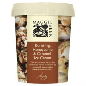 Maggie Beer Ice Cream Burnt Fig & Honeycomb