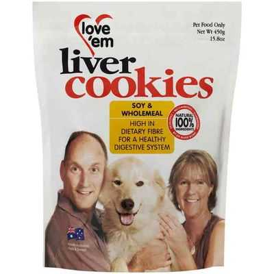 brenna reviewed Love'em Treat Soy & Wholemeal Cookies