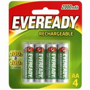 Eveready Aa Rechargable Batteries