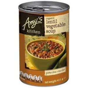 Amys Kitchen Canned Soup Organic Lentil & Vegetable