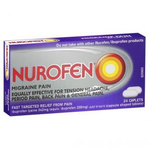 Nurofen Caplets Migraine Pain