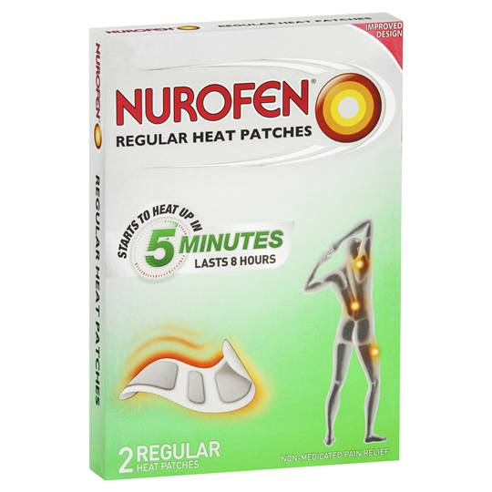 Nurofen Plastic Strips Back Pain