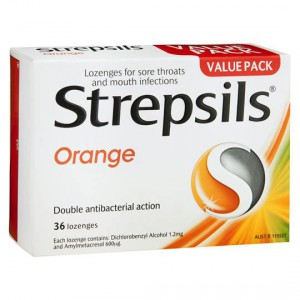 Strepsils Lozenges Orange