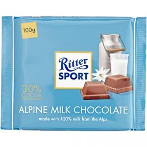 Ritter Sport Milk Chocolate Alpine