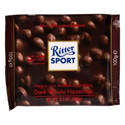 Ritter Sport Dark Chocolate Whole Hazelnut