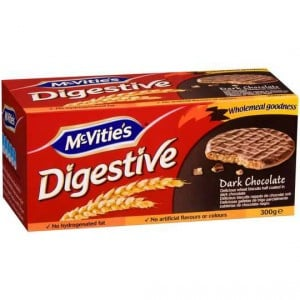 Mcvities Digestives Biscuit Dark Chocolate
