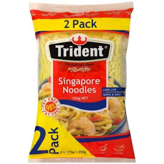 Trident Singapore Noodles 2pk