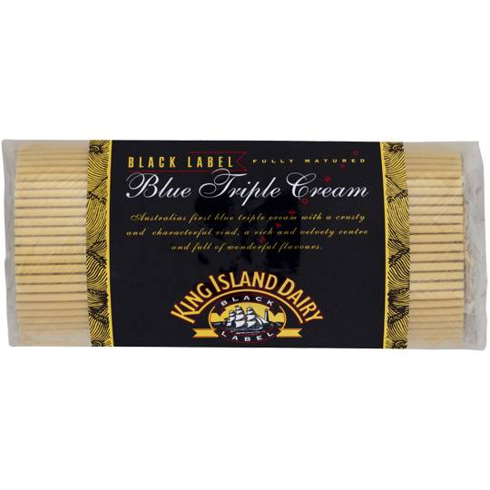 King Island Cheese Blue Triple Cream Black Label