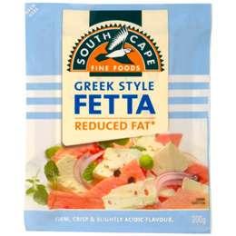 South Cape Reduced Fat Greek Style Fetta