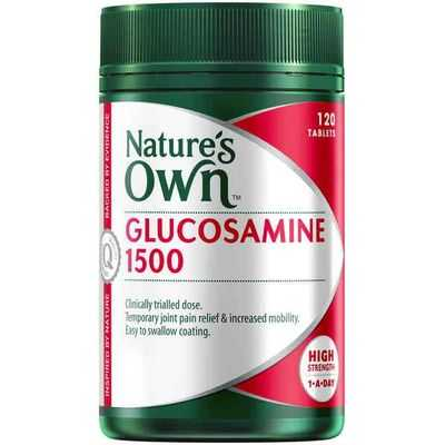 Nature's Own Glucosamine 1500mg Tablets