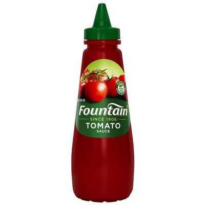 Fountain Tomato Sauce Squeeze Bottle