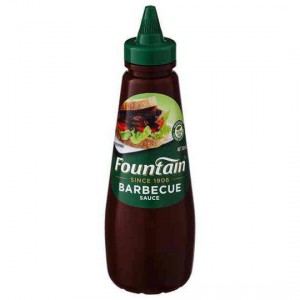 Fountain Barbecue Sauce Squeeze