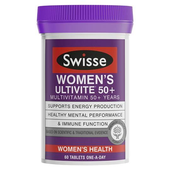 Swisse Ultivite Womens 50+ Tabs