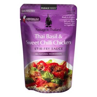 Passage To Thailand Sauce Sweet Chilli Basil