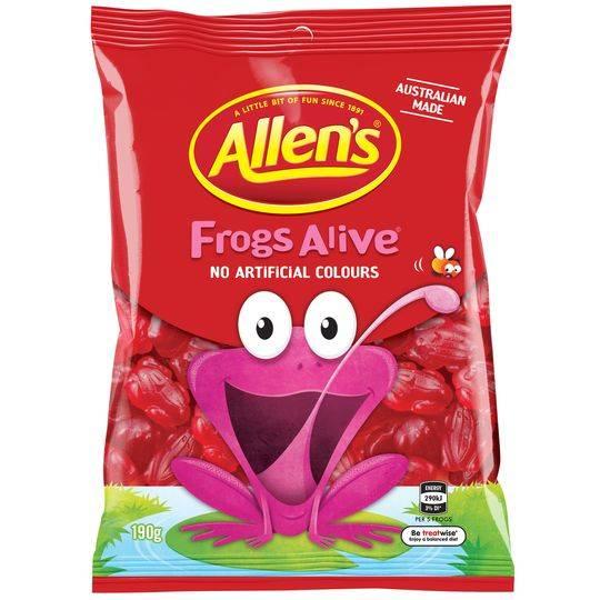 Allen's Frogs Alive
