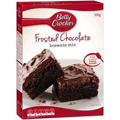 Betty Crocker Brownie Mix Frosted Chocolate