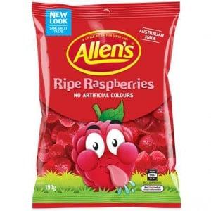 Allen's Ripe Raspberries