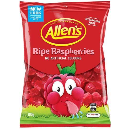 mom90511 reviewed Allen's Ripe Raspberries